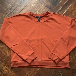 Dark Orange Long Sleeve Shirt